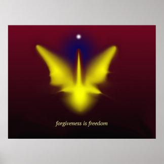 el perdón es libertad poster