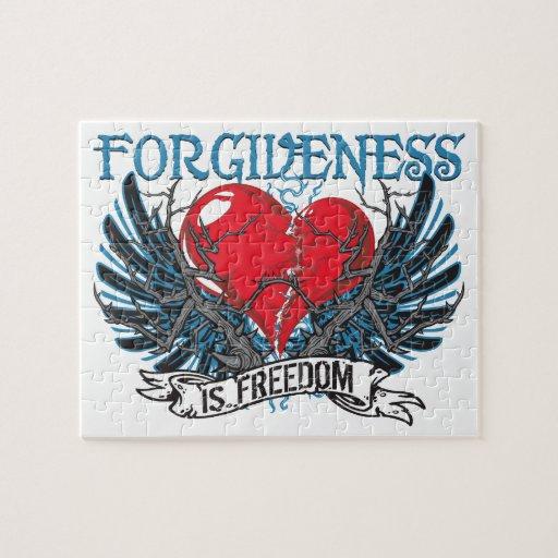 El perdón es libertad puzzle