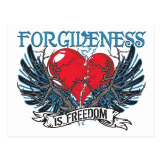 El perdón es libertad postales