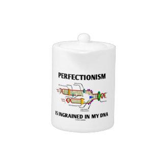 El perfeccionismo Ingrained en mi DNA (el humor)