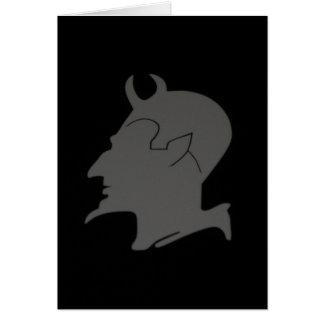 El perfil del diablo - tarjeta