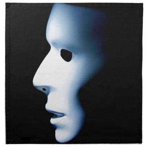 El perfil del fantasma tiene gusto de Face.jpg Servilletas De Papel