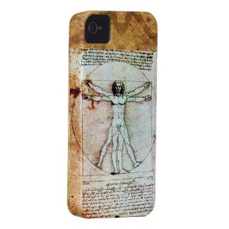 El pergamino de la antigüedad del HOMBRE de iPhone 4 Fundas
