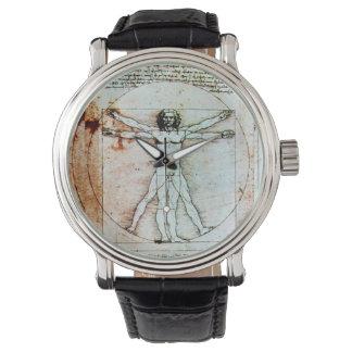 El pergamino de la antigüedad del HOMBRE de Reloj