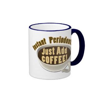 El Periodontist inmediato apenas añade el café Tazas De Café