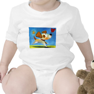 El perrito 1 de los niños de Trish Biddle de 3 Trajes De Bebé