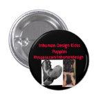el perrito, boot-735943, diseño inhumano golpea Pu Pins