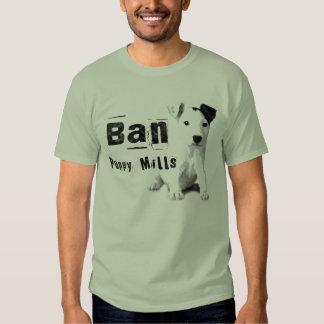 El perrito de la prohibición muele la camiseta de remera