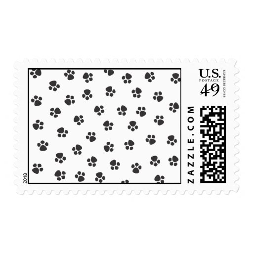El perrito imprime el sello