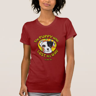 El perrito que perdió su manera - historia camiseta