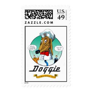 El perrito timbre postal