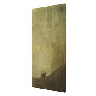 El perro, 1820-23 impresion de lienzo