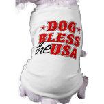 El perro bendice la camisa del perro de los E.E.U. Ropa Macota