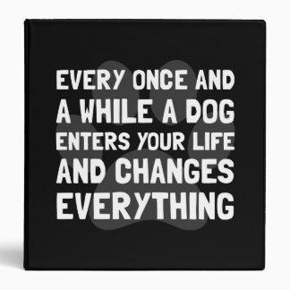 """El perro cambia todo carpeta 1 1/2"""""""