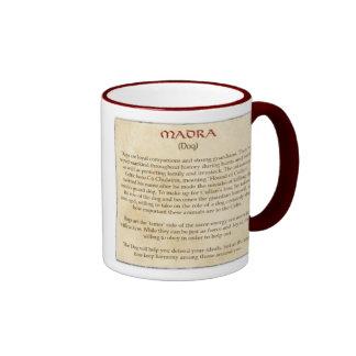 El perro céltico taza de dos colores
