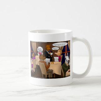 El perro comió los regalos divertidos etc de las taza de café