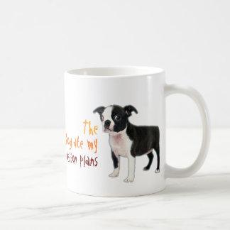 El perro comió mis planes de lección taza
