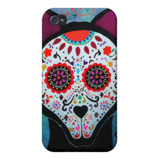 EL PERRO DAY OF THE DEAD iPhone 4/4S COVER