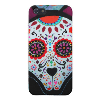 EL PERRO DAY OF THE DEAD iPhone SE/5/5s CASE