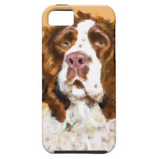 El perro de aguas de saltador inglés iPhone 5 protector