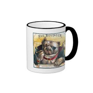 El perro de la gorila taza de café