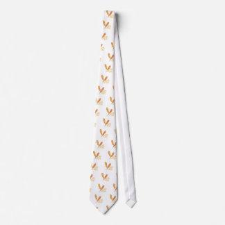 El perro de maíz corbata