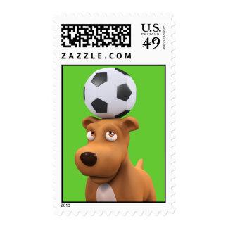 ¡el perro de perrito 3d equilibra el fútbol! envio