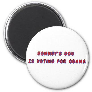 El perro de Romney Imán Redondo 5 Cm