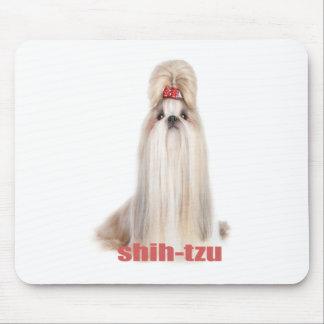 el perro de shih-tzu cría el シーズー - シーズー犬の品種 tapete de ratón