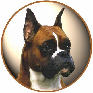 El perro del boxeador fotoescultura vertical