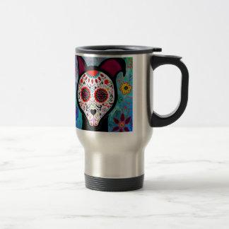 EL PERRO DOG DIA DE LOS MUERTOS COFFEE MUG