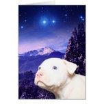 El perro es dios deletreado al revés… tarjeta de felicitación