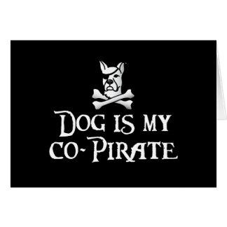 El perro es mi Co-Pirata Felicitaciones