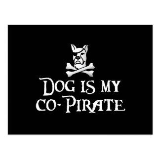 El perro es mi Co-Pirata Postal
