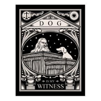 El perro es mi testigo postal