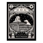 El perro es mi testigo tarjetas postales
