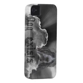 El perro existe cubierta de mobil del satireiphone iPhone 4 funda
