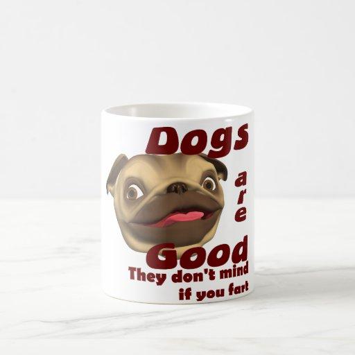 El perro Fart Tazas De Café