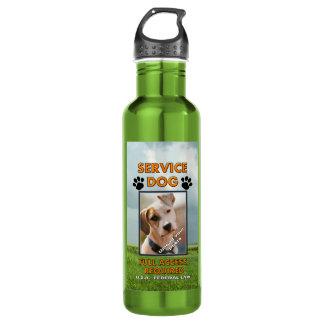 El perro K9 del servicio de Medowland apaga