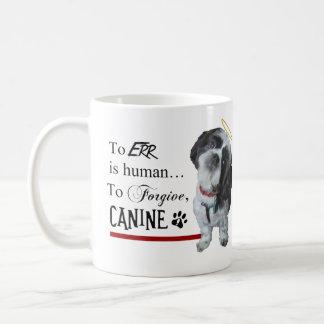 """El perro lindo """"Err es Human~To perdona el Taza"""