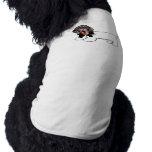 El perro manuscrito del novio camisa de mascota
