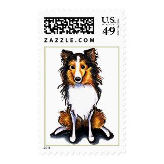 El perro pastor de Sheltie Shetland del Sable Envio