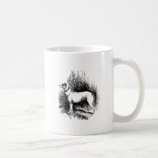 El perro perdiguero confiable taza clásica