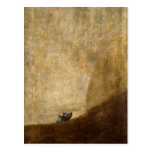 El perro (pinturas negras) por Francisco Goya 1820 Postal