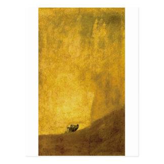 El perro, por Francisco de Goya Postales