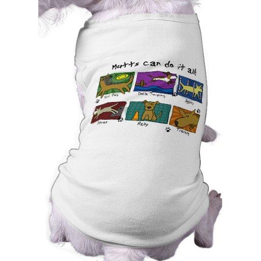 El perro se divierte la camisa del perro de los Mu Ropa De Perros