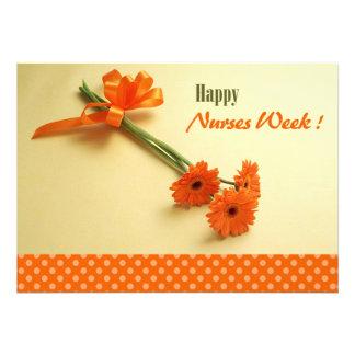 El personalizable cuida tarjetas de felicitación d comunicado personalizado