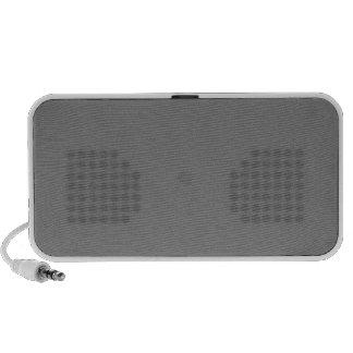 El personalizable de los grises carbones diseña co iPod altavoz