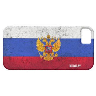 El personalizado apenó la caja rusa del iPhone de  iPhone 5 Case-Mate Carcasas