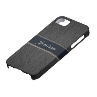 El personalizado cepilló la caja del iPhone 5 de l iPhone 5 Case-Mate Funda